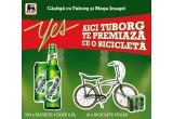 10 x bicicleta Pegas, 300 x pachet cu 6 doze Tuborg 0.5L