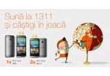 1 x smartphone HTC M8, 2 x smartphone HTC One Mini 2