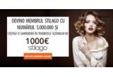 1 x garderoba in valoare de 1.000 de euro