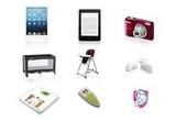 1 x iPAd Mini, 2 x eBook Kindle, 2 x aparat foto digital Nikon, 1 x patut pliabil Baby Dan, 1 x scaun de masa Prima Pappa, 1 x interfon Chicco Digital Ultra Compact, 1 x cantar digital Janosch, 1 x termometru de frunte Laica, 1 x sedinta de consiliere individuala la alegere oferita de Asistentul SAMAS