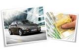 1 x masina BMW Seria 3, 30 x 1000 euro