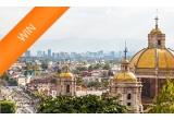 1 x 2 bilete de avion la Mexico City