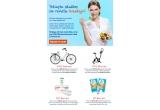 1 x set de produse oferite de Essence Pure Skin, 1 x set de produse oferite de GNC , 1 x bicicleta magnetica, 1 x bicicleta Gazelle
