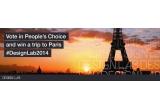 1 x vacanta la Paris + invitatie la ceremonia de premiere Design Lab