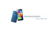 1 x telefon Samsung Galaxy S5, 57 x voucher de 200 lei