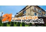 1 x apartament cu 3 camere, zilnic: 100 euro