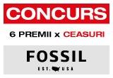 6 x ceas Fossil