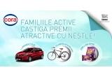 1 x masina Renault Clio Estate, 12 x bicicleta City V2636BS Velors, 2.000 x pachet de napolitane JOE Negresa 180g, 2.000 x pachet de napolitane JOE Negresa 180g