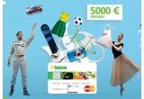 1 x 5000 euro