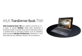 1 x tableta convertibila in laptop ASUS Transformer Book T100
