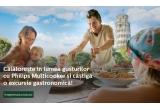 1 x excursie culinara in una din cele 10 tari la alegere: Franta/ Spania/ Italia/ Marea Britanie/ Portugalia/ Grecia/ Suedia/ Romania/ Bulgaria/ Turcia, 200 x 100 lei pentru cumparaturi