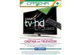 1 x televizor LED HD cu diagonala de 80 cm