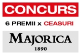 2 x bratara piele cu argint 925 si perla Majorica, 2 x pereche cercei argint 925 cu perla Majorica, 2 x lant argint 925 cu perla Majorica