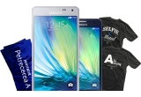 1 x telefon Samsung Galaxy A3, 1 x telefon Samsung Galaxy A5, 50 x tricou No Eye Patch & Samsung, 100 x premiu constand in invitatii la Party Generatia A
