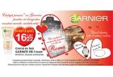 1 x weekend romantic pentru 2 la Roma, 3 x set cadou (ceas + bratara)