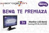 3 x monitor LED BenQ Gaming RTS RL2455HM 24 inch 1 ms GTG black-red