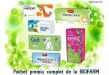 7 x pachet cu produse pentru copii de la Biofarm