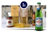 9 x cos cu produse gourmet oferite de I Regali di Francesca, 9 x Six pack Peroni 0.33 l