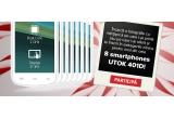 8 x smartphone UTOK 401D white