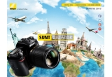 1 x aparat foto DSLR Nikon D7200 body, 3 x troller SUNT Calator