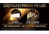 1 x weekend la un hotel de 4* cu servicii SPA inclus din Austria, 12300 x poseta, 6540 x set pensule