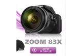29 x sapca Nikon, 1 x aparat foto Nikon COOLPIX P900