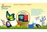 1 x tableta UTOK + card memorie 8 GB + Touchscreen Stylus Pen, 1 x set ce cuprinde mouse wireless + casti + pad