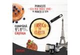 1 x weekend romantic la Paris + 100 euro bani de cheltuiala, 20 x storcator de fructe Tefal ZN355, 20 x fierbator electric Tefal KI160G11, 20 x cafetiera Tefal CM360812