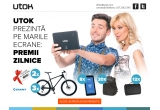 3 x Bicicleta Giant, 2 x Voucher City Break in valoare de 500 euro, 8 x tableta UTOK iQ700, 20 x rucsac UTOK, 12 x patura de picnic