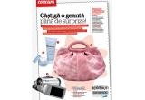 o geanta Benvenuti, o crema hidratanta pentru ten normal si un lapte demachiant pentru ten normal si uscat de la Oxyance si o camera video Panasonic NV-GS80<br />