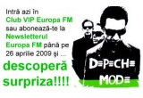 un super premiu surpriza Depeche Mode<br />