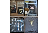 3 x geanta Game of Thrones, 2 x figurina Arya + 4 insigne Game of Thrones, 2 x tricou Game of Thrones