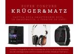 2 x smartphone Krüger & Matz Soul, 1 x smartwatch Krüger & Matz, 1 x pereche de casti Kruger & Matz