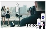 50 x set de make-up Nivea, 500 x set de produse Invisible for Black & White, 100 x set de produse Invisible for Black & White