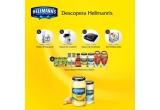 1 x robot de bucatarie Bosch + set compus din 10 produse Hellmann's si Knorr, 1 x aparat de maruntit (tocator electric) Philips + set de 10 produse Hellmann's si Knorr, 1 x aparat de facut sandvisuri Philips + set de 10 produse Hellmann's si Knorr, 7 x set de 8 boluri de sticla Borgonovo + set de 10 produse Hellmann's si Knorr