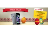 3 x iPhone 6, 20 x voucher de cumparaturi Billa de 100 ron