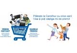 1 x Voucher Carrefour pentru electronice si electrocasnice de 10.000 de euro, 6291 x voucher Carrefour de 10 ron, 621 x voucher Carrefour de 20 ron, 189 x voucher Carrefour de 50 ron