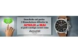 1 x ceas Accurist 7020 Cronograf