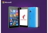 3 x smartphone Microsoft Lumia 535, 100 x pachet cadou Julius Meinl