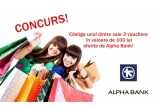3 x voucher de cumparaturi in Baneasa Shopping City de 100 lei