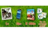 1 x excursie la Ferma lui Barni (Fetznhof - Germania), 56 x smartphone Samsung Galaxy Note 3 Neo (N7505), 5.000 x carte interactiva Barni la ferma