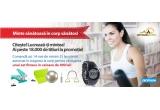 1 x set de fitness: stepper + covor fitness + ceas cardio + coarda de rezistenta + minge gimnastica cu pompa