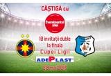 10 x invitație dubla la meciul Steaua-Pandurii Targu Jiu de pe Arena Naționala