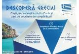 50 x voucher de cumparaturi Lidl de 30 Lei, 1 x excursie pentru doua persoane in Grecia