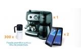 1 x espressor DeLonghi, 2 x tableta Samsung Galaxy Tab 3, 300 x cana termoizolanta