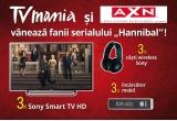 3 x Sony Smart TV HD, 3 x casti wireless Sony, 3 x incarcator mobil