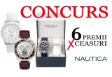 2 x ceas de dama Nautica, 4 x ceas barbatesc Nautica