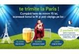 12.000 x doza de bere, 6.000 x odorizant de masina, 1.200 x minge de fotbal, 2 x pachet VIP pentru 2 persoane la Campionatul European de Fotbal Paris (sunt incluse: biletele la meci + cazare + transport)