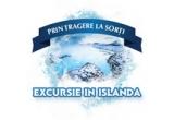 120 x lada frigorifica personalizata Ursul Cooler, 180 x pachet 4 doze Ursus Cooler fara alcool, 1 x excursie in Islanda
