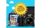 1 x aparat foto Nikon Coolpix L840 + geanta foto + card de memorie 8 GB + incarcator cu 4 acumulatori AA